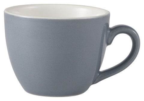 Genware 312109G Royal  Bowl Shaped Cup 9cl Grey
