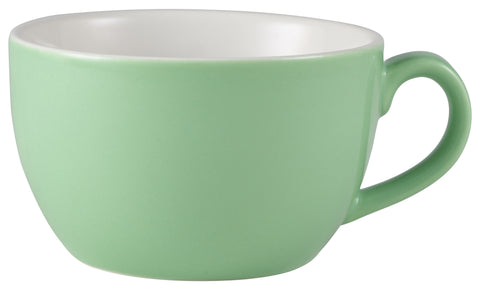 Genware 322125GR Royal Bowl Shaped Cup 25cl Green