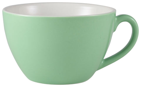 Genware 322134GR Royal Bowl Shaped Cup 34cl Green