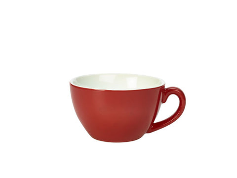 Genware 322134R Royal Bowl Shaped Cup 34cl Red