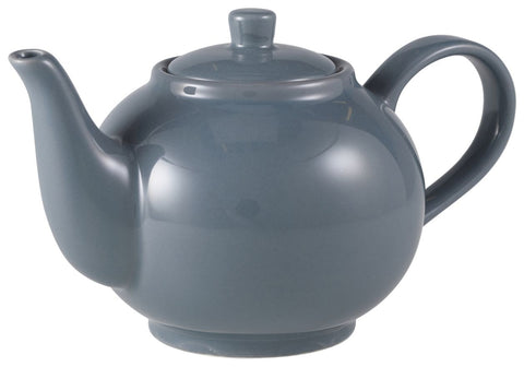 Genware 393945G Royal Teapot 45cl Grey