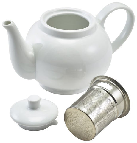 Genware 393946 Royal Teapot with Infuser 45cl