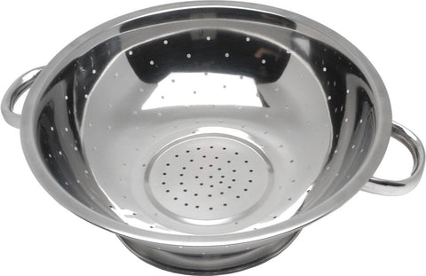"Genware 444 Economy S/St. Colander 11""Tube Hdl., Kitchen & Utensils, Advantage Catering Equipment"
