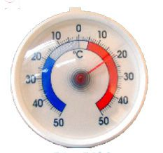 Genware 717-EB Dial Type Freezer Thermometer -50 To 50 Deg C, Kitchen & Utensils, Advantage Catering Equipment