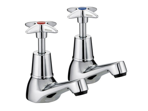 Advantage 1/2 Inch Cross Head Basin Taps