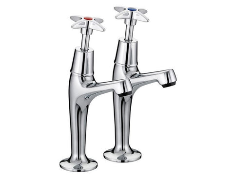Advantage 1/2 Inch Cross Head Sink Taps