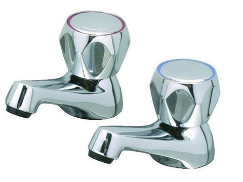 Advantage 1/2 Inch Dome Head Basin Taps
