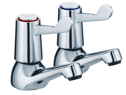 Advantage 1/2 Inch Lever Basin Taps