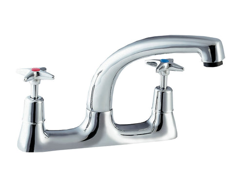 Advantage Deck Mixer 1/2 Inch Cross Head Tap, Taps, Advantage Catering Equipment