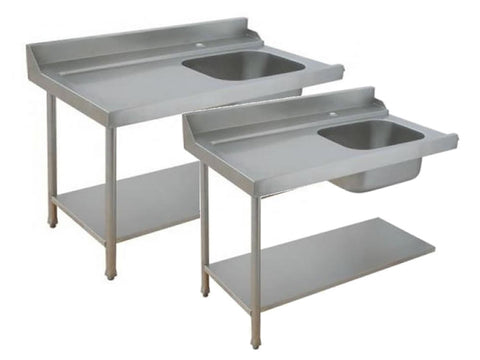 Parry Dishwasher Inlet Table Range, Fabrications, Advantage Catering Equipment