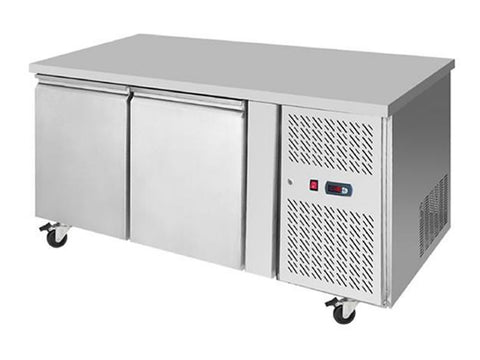 Atosa EPF 3422HD Two Door Prep Counter Fridge, Refrigerators, Advantage Catering Equipment
