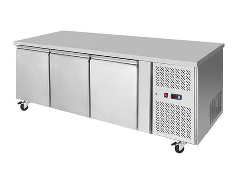 Atosa EPF 3432HD Three Door Prep Counter Fridge, Refrigerators, Advantage Catering Equipment