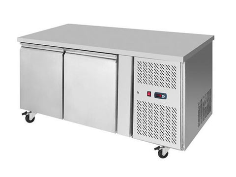 Atosa EPF 3462HD Two Door Prep Counter Freezer, Freezers, Advantage Catering Equipment