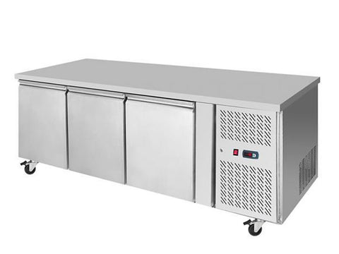 Atosa EPF 3472 Three Door Prep Counter Freezer