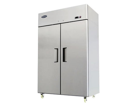Atosa MBF 8114 Double Door Upright Freezer, Freezers, Advantage Catering Equipment