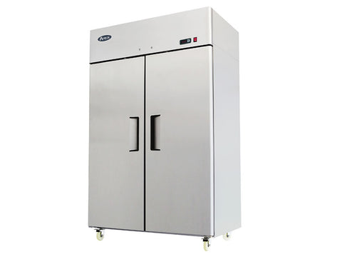 Atosa MBF 8117 Double Door Upright Fridge, Refrigerators, Advantage Catering Equipment