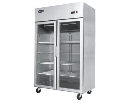 Atosa YCF 9402 Double Door Glass Display Fridge