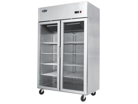 Atosa YCF 9408 Double Glass Door Display Freezer