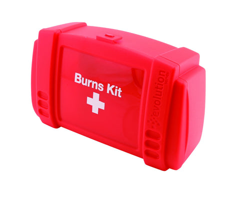 Genware BKSML Burns First Aid Kit Small, Safety & First Aid, Advantage Catering Equipment