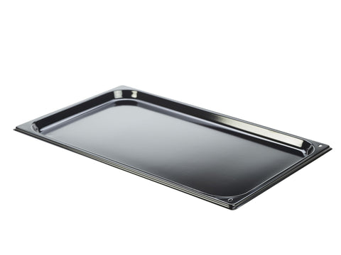 Genware BT-EN11 Enamel Baking Tray GN 1/1  530 x 325 x 20mm