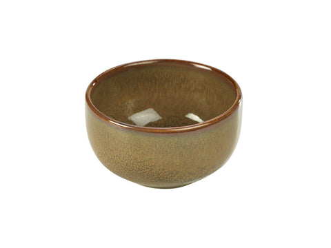 Genware BW-BR11 Terra Stoneware Rustic Brown Round Bowl 11.5cm, Tableware, Advantage Catering Equipment