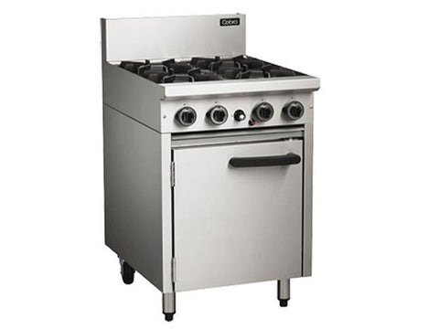Blue Seal Cobra CR6D Gas Range with Static Oven, Range Cookers, Advantage Catering Equipment