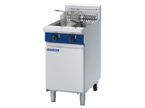 Blue Seal E44 Twin Pan Electric Fryer, Fryers, Advantage Catering Equipment
