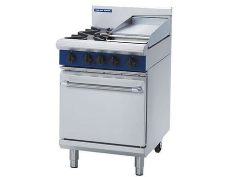 Blue Seal G504C Gas Range with Griddle and Static Oven