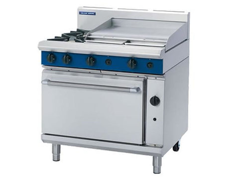 Blue Seal G506B Gas Range with Griddle and Static Oven