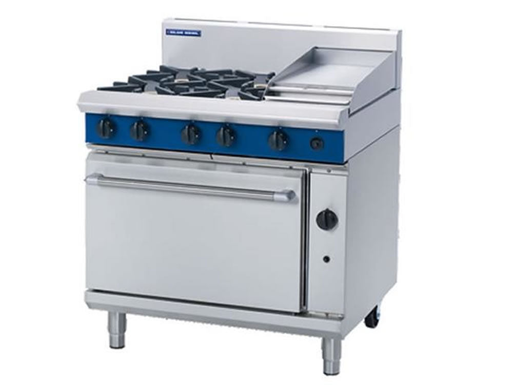 Prime Blue Seal G506C Gas Range With Griddle And Static Oven Home Interior And Landscaping Ponolsignezvosmurscom