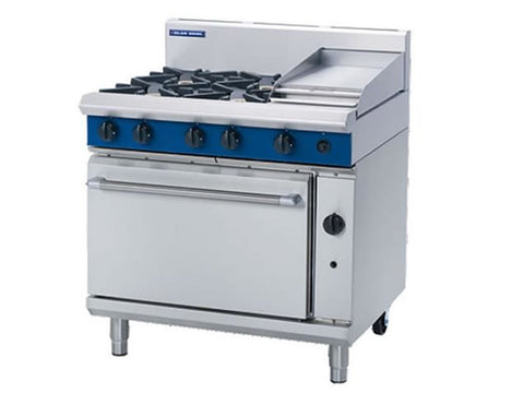 Blue Seal G506C Gas Range with Griddle and Static Oven, Range Cookers, Advantage Catering Equipment