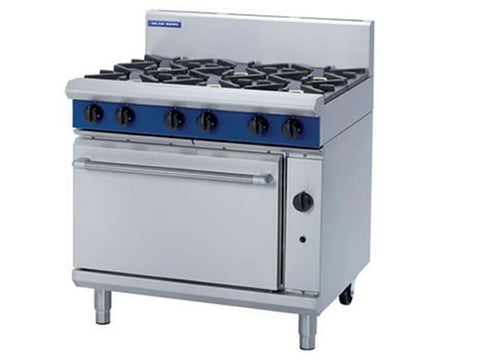Blue Seal G506D Gas Range with Static Oven, Range Cookers, Advantage Catering Equipment