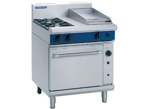 Blue Seal G54C Gas Range with Griddle and Fan Oven, Range Cookers, Advantage Catering Equipment