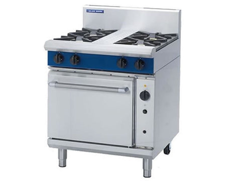 Blue Seal G54D Gas Range with Fan Oven, Range Cookers, Advantage Catering Equipment
