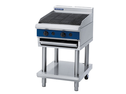 Blue Seal G594-LS 600mm Gas Chargrill on Stand
