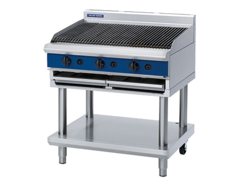 Blue Seal G596-LS 900mm Gas Chargrill on Stand