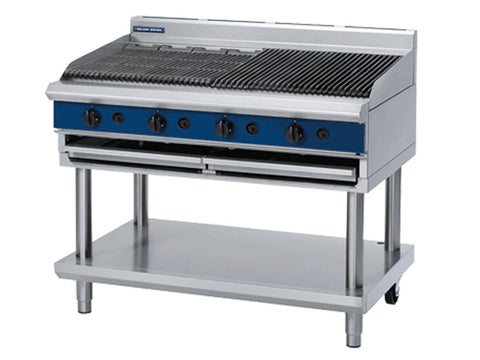 Blue Seal G598-LS 1200mm Gas Chargrill on Stand