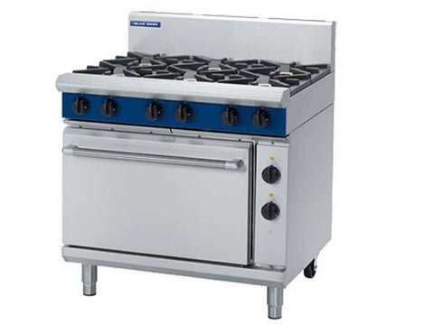 Blue Seal GE506D Gas Range with Electric Static Oven, Range Cookers, Advantage Catering Equipment