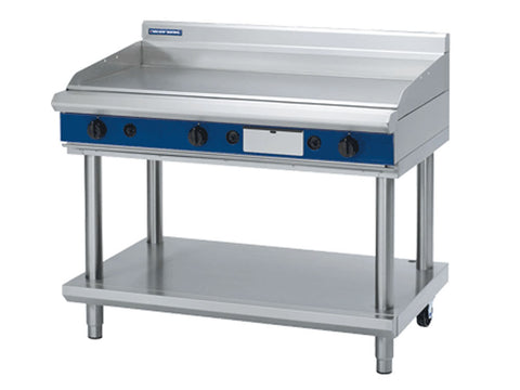 Blue Seal GP518-LS 1200mm Gas Griddle on Stand, Griddles, Advantage Catering Equipment