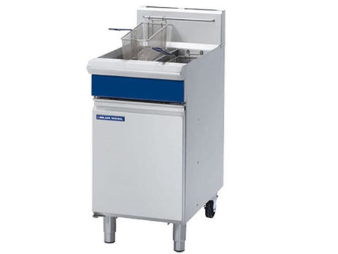 Blue Seal GT46 Vee Ray Twin Pan Gas Fryer, Fryers, Advantage Catering Equipment