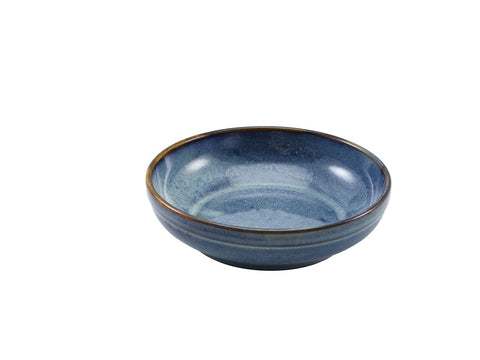Genware CB-PBL20 Terra Porcelain Aqua Blue Coupe Bowl 20cm, Tableware, Advantage Catering Equipment