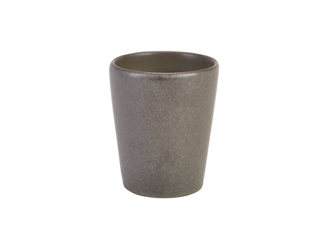 Genware CC-AN10 Terra Stoneware Antigo Conical Cup 10cm, Tableware, Advantage Catering Equipment