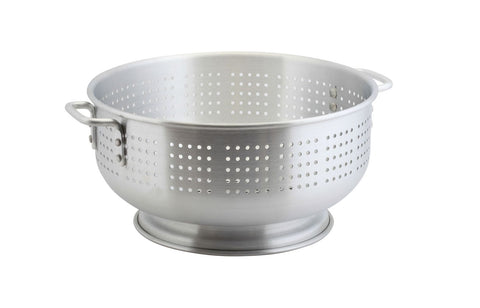 Genware COL11 Alum. Heavy Duty Colander 11.4L 38 x 20cm, Kitchen & Utensils, Advantage Catering Equipment