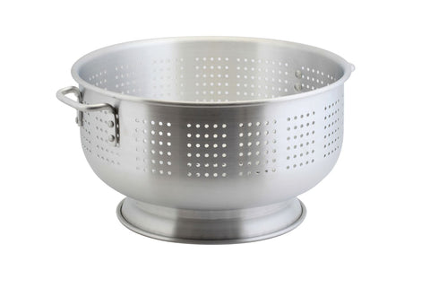 Genware COL15 Alum. Heavy Duty Colander 15.2L 40.6 x 23.6cm, Kitchen & Utensils, Advantage Catering Equipment