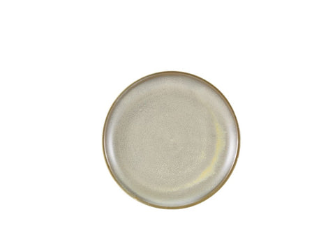 Genware CP-PMG24 Terra Porcelain Matt Grey Coupe Plate 24cm, Tableware, Advantage Catering Equipment