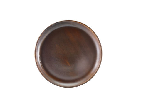Genware CP-PRC27 Terra Porcelain Rustic Copper Coupe Plate 27.5cm, Tableware, Advantage Catering Equipment