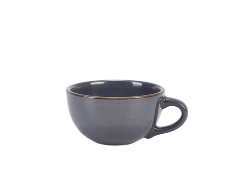Genware CUP-BL30 Terra Stoneware Rustic Blue Cup 30cl/10.5oz, Tableware, Advantage Catering Equipment
