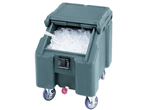 Cambro ICS100L Sliding Lid Ice Caddy, Ice, Advantage Catering Equipment
