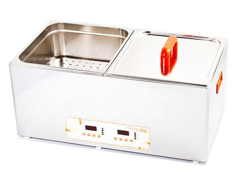 Clifton Food Range FLD-14/14 Digital Unstirred Duobath, Sous Vide, Advantage Catering Equipment