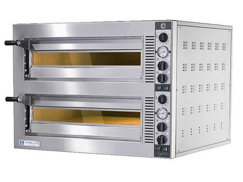 Cuppone LLKTP9352 Tiepolo Twin Deck Pizza Oven, Ovens, Advantage Catering Equipment